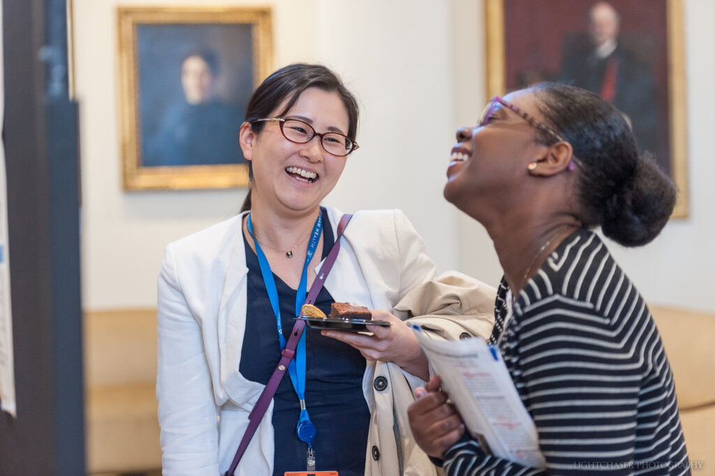 20190918, Wednesday, September 18, 2019, Boston, MA, USA – Brigham Health, Brigham and Women's Hospital held the Women in Medicine and Science Symposium in the Bornstein Family Amphitheater with a following reception in the Peter Bent Brigham building Rotunda Fish Atrium at Brigham and Women's Hospital Wednesday September 18, 2019.  ( 2019 © lightchaser photography  )