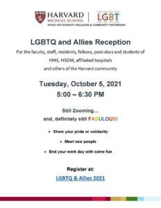 LGBTQ & Allies Reception