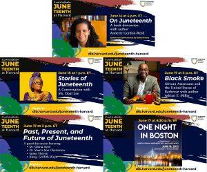 Juneteenth Events at Harvard, 6/14 - 6/18